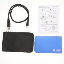 Высокая Скорость Сельма Алюминиевый USB 3.0 SATA 2.5 «HD HDD Жесткий Диск Корпус Дело/Box 2.5 дюймов Горячие Продажа