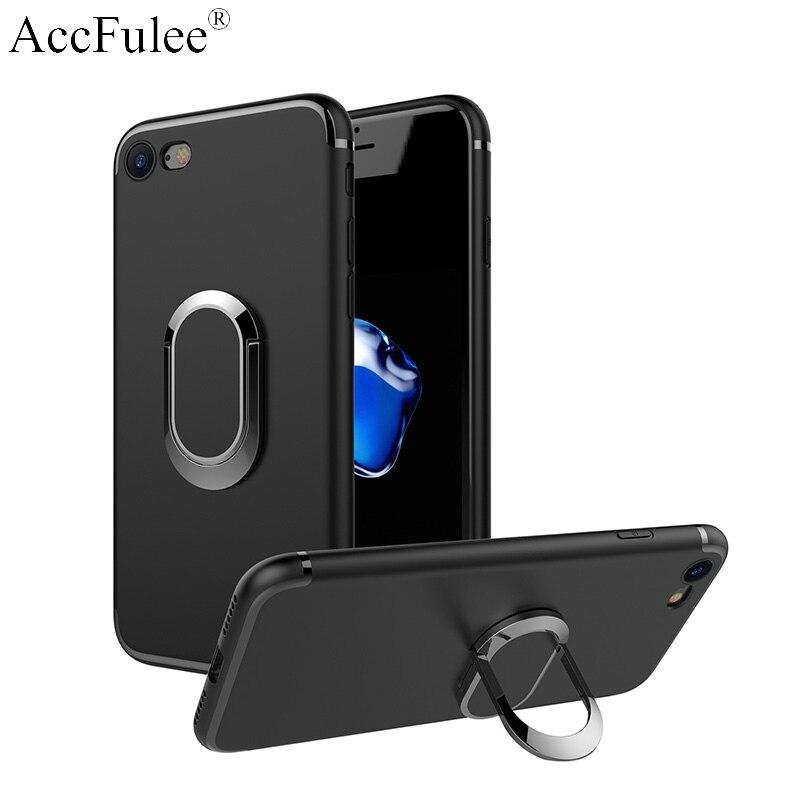 Finger Ring Stand Car Holder Case For Motorola Moto E4 Plus E5 E6 E6 Play E6+ C Plus X4 P30 Note P40 Soft TPU Cover