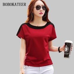 BOBOKATEER tee shirt femme tshirt women t shirt summer tops for women 2019 funny t shirts cotton sexy t-shirt camisetas mujer 1