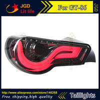 Car Styling Tail Lights For Toyota GT86 LED Tail Lamp Rear Trunk Lamp Cover Drl Signal