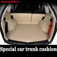 ZHAOYANHUA Custom made car Trunk mats for Lexus NT200 NX200T NX300H F Sport ES 200 250 350 IS GS GX470 LX570 RX RX LS 350