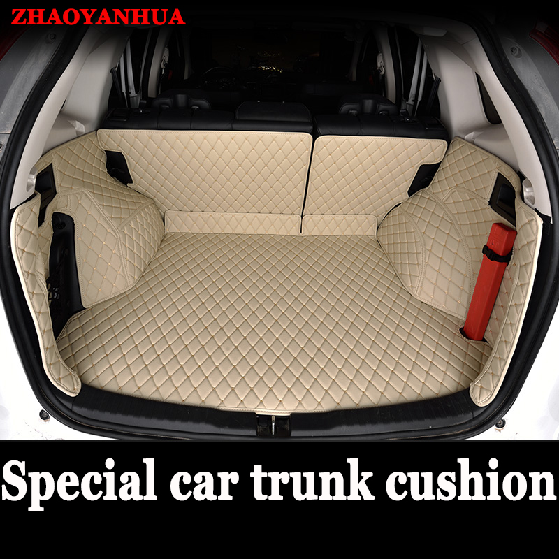 ZHAOYANHUA Custom made car Trunk mats for <font><b>Lexus</b></font> NT200 NX200T NX300H <font><b>F</b></font> <font><b>Sport</b></font> ES 200 250 <font><b>350</b></font> IS <font><b>GS</b></font> GX470 LX570 RX RX LS <font><b>350</b></font> image