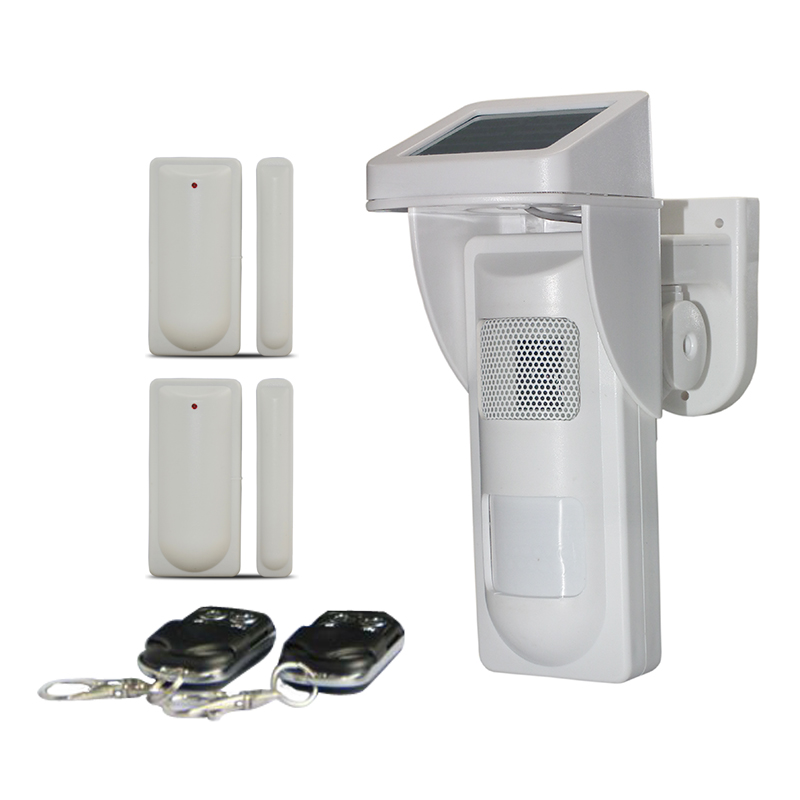 Promotion On-site Alarm System Outdoor 180 Degree Pet Immunity up to 30KG Solar PIR Motion Sensor with Sound and Flash Reminder site forumklassika ru куплю баян юпитер