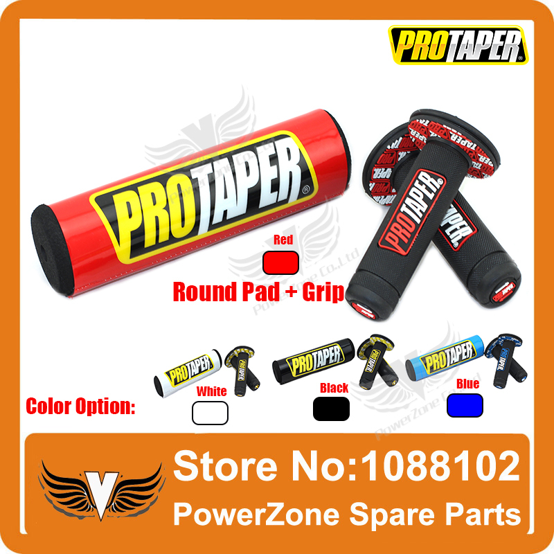 Red With ProTaper Sticker Pro Taper 10 Round Bar Pad