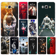 202DD Real Cristiano Ronaldo CR7 02 Transparent Case Cover for Samsung Note 3 4 8 for Galaxy a3 a5 2017 j3 j5 j7 2015 2016 2017(China)