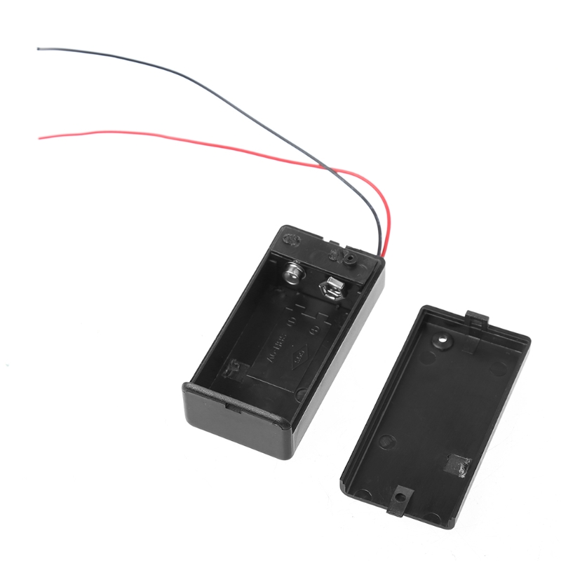 2Pcs New 9V Battery Holder with ON//OFF Switch 9 volt Box Pack Power Toggle EF