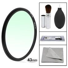 WTIANYA 43mm HD MAGRO UV Protector Multi-Revestido MCUV Filtro para 43mm Lente Da Câmera Mirrorless