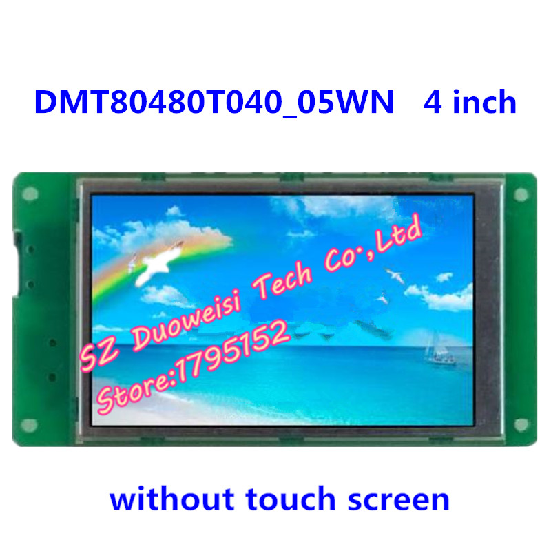DMT80480T040_05WN 4-inch LCD screen industrial serial non-touch screen DGUSDMT80480T040_05WN 4-inch LCD screen industrial serial non-touch screen DGUS