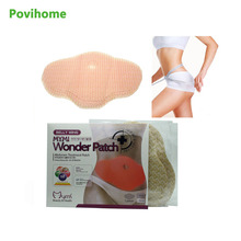 Povihome 10Pcs MYMI Wonder Slimming Patch Belly Abdomen font b Weight b font font b Loss