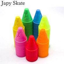 Cups Roller-Skating Skate Marking Windproof Slalom Japy Cones Pile Human-Figure-Hole