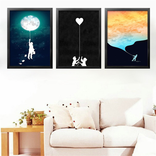 Modern Minimalist Abstract Art Canvas Prints And Posters Pictures Wall For  Living Room Kids Bedroom Home