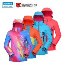POLISI Professional Thermal Warm Ski Jacket Waterproof Windproof Outdoor Sport Snowboard Coats Women Skiing Snow Clothing