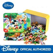 Disney 2020 New Fashion Animation Puzzles 100 Ice Skeleton Tin Wood Puzzles Child Baby Puzzles Building Toys Generation паззл vintage puzzles