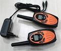 T628 1 w Largo alcance vox monitor de 2 canales FRS GMRS par de walkie talkies de radio móvil portátil radios interphone 121 privado código