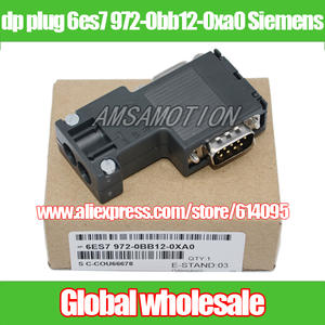 Dp-Plug Siemens/profibus for Bus-Connector/90-Degrees Programming-Port Electronic-Data-Systems
