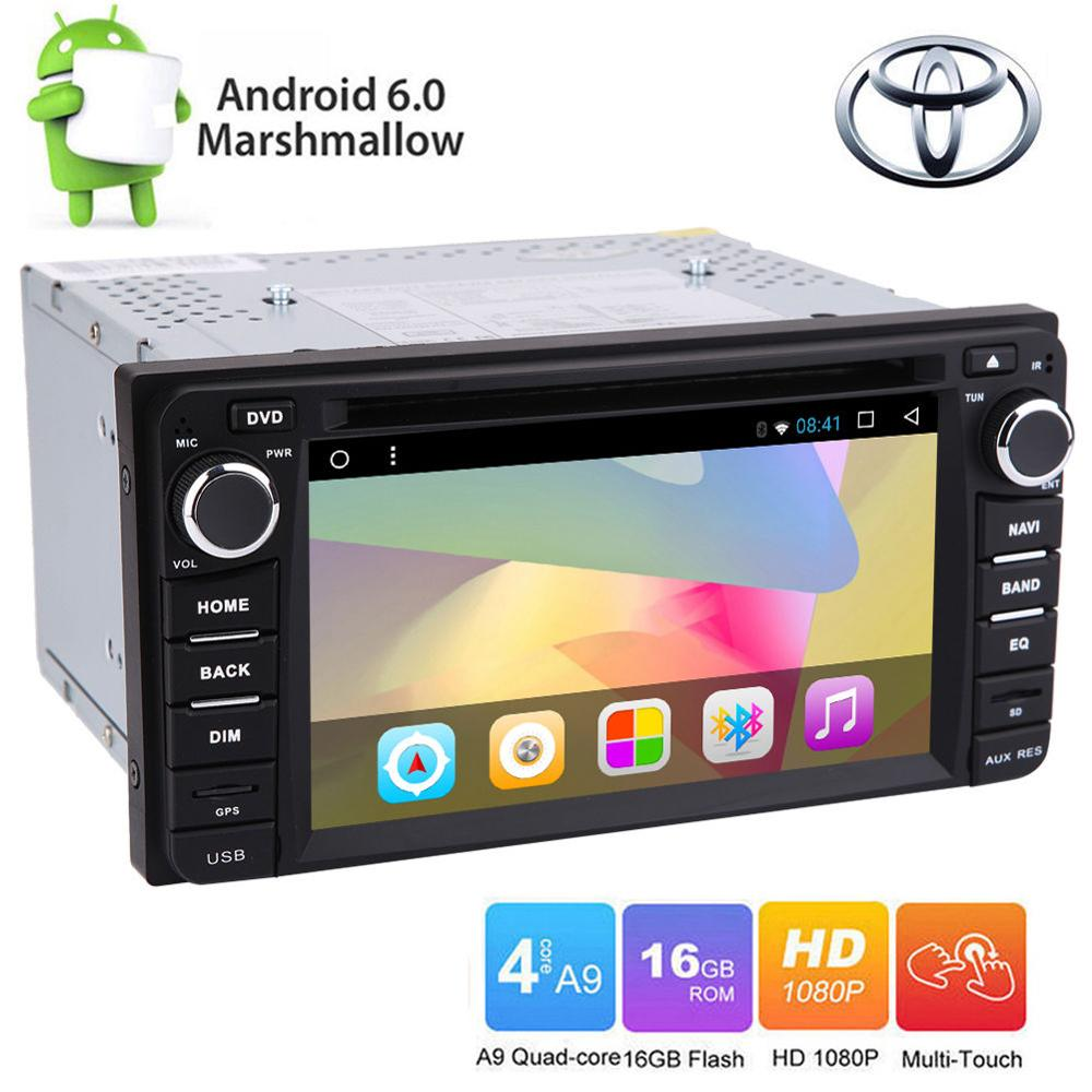 Android6.0 Car Dash DVD Player GPS Navigation Radio Stereo for Toyota Corolla EX