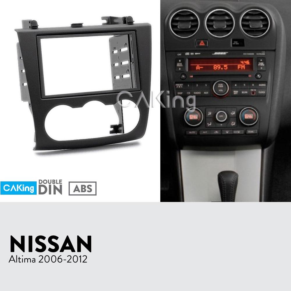 Dash Trim Kit Cover for Maxima 2004-2006 Wood Chrome Carbon Interior NSN-37C