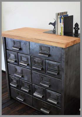 Cargo Retro Corner Cabinet Cupboard