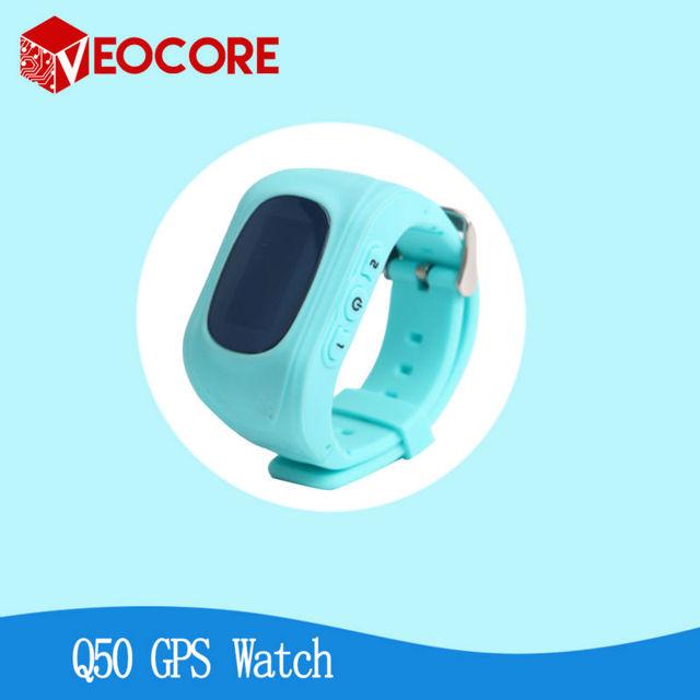 2016 Smart Kid Safe GPS Q50 Chamada SOS Localizador Localizador rastreador para o Miúdo Criança Anti Perdido Monitor Compatível com IOS & e