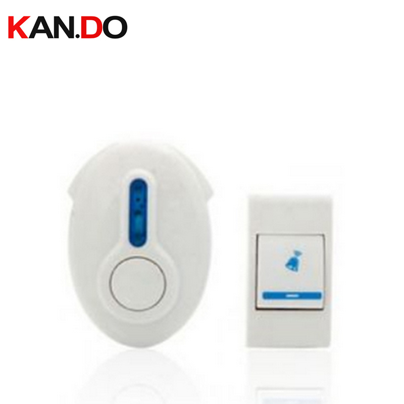 9520FA W/ Battery 23A 12V Receiver By AC110-220V Wireless Door Bell Doorbell Chime Economic Bell 1 Emitter 1 Receiver