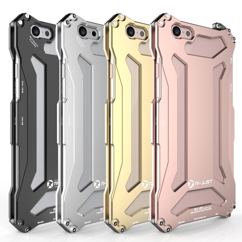 bilder für Luxus Aluminiumlegierung Stoßfest Hülle Für iPhone 6/6 s Abdeckung Telefon Fällen Shell Haut