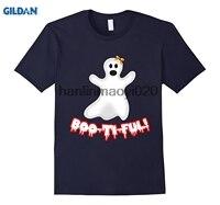GILDAN Boo Ti Ful Cute White Ghost Beautiful Scary Joke Pun T Shirt