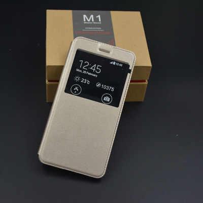 Housse de protection étui à rabat pour Xiao mi rouge mi Note 6 7 4X 5A S2 fenêtre transparente étui en cuir pour Xio mi 8SE A2 mi x 3