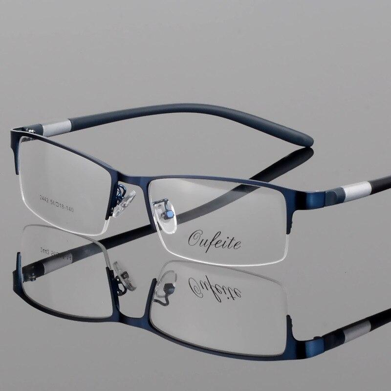 Cubojue TR90 Glasses Men Customize 1.56 1.61 1.67 Index Lens Myopia Diopter Prescription Spectacle Male Photochromci Progressive