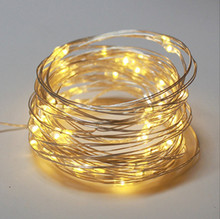 USB LED String lights Holiday lighting For Christmas Tree Wedding Party Decoration-Warm White