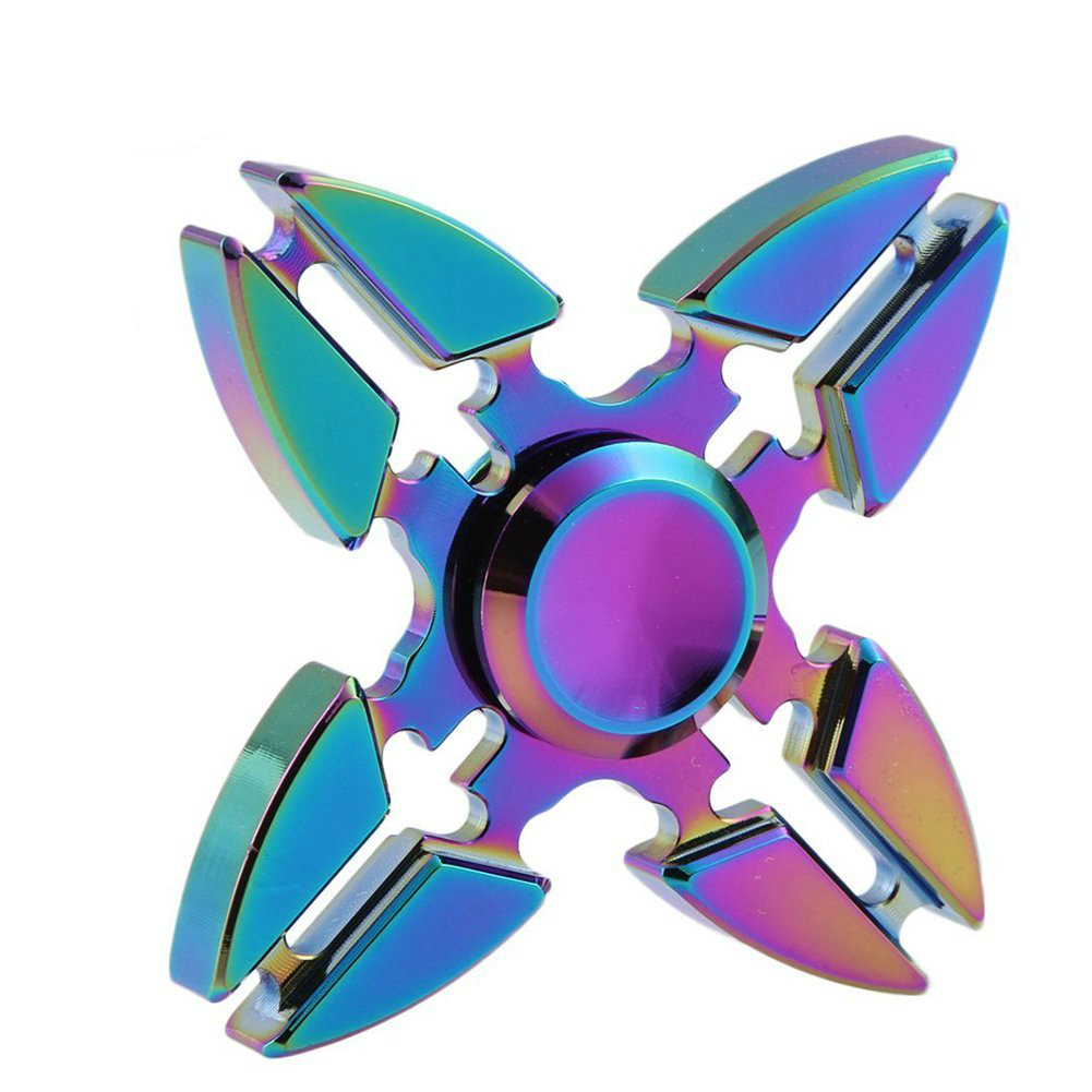 EMS DHL Drop Shipping 100pcs/Lot Hand Spinner Triangle Crabs Rotating Torqbar Professional Attention To Autism