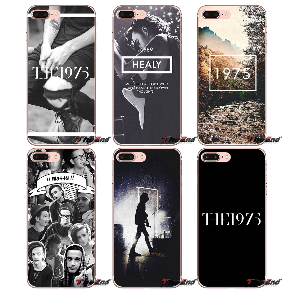 Soft Skin Case The 1975 Music BRITISH Band For iPhone X 4 4S 5 5S 5C SE 6 6S 7 8 Plus Samsung