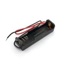 AA Размер питания батареи Чехол для хранения пластиковая коробка держатель с проводами DEC14