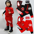 Spiderman Boys Clothing set Sports Kids Jacket + Trousers Tracksuits vetement garcon Outfits Coat + Pants For 2 4 6 8 10 Years