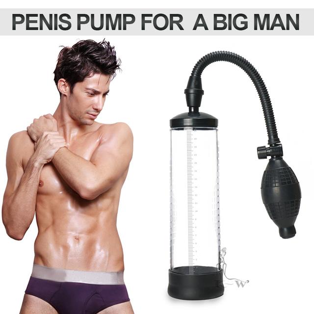 Penis Enlargement Vacuum Pump Penis Extender Sex Toys