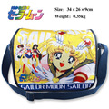 Sailor moon polyester shoulder bag/colorful printed w/ Sailor moon Tsukino Usagi
