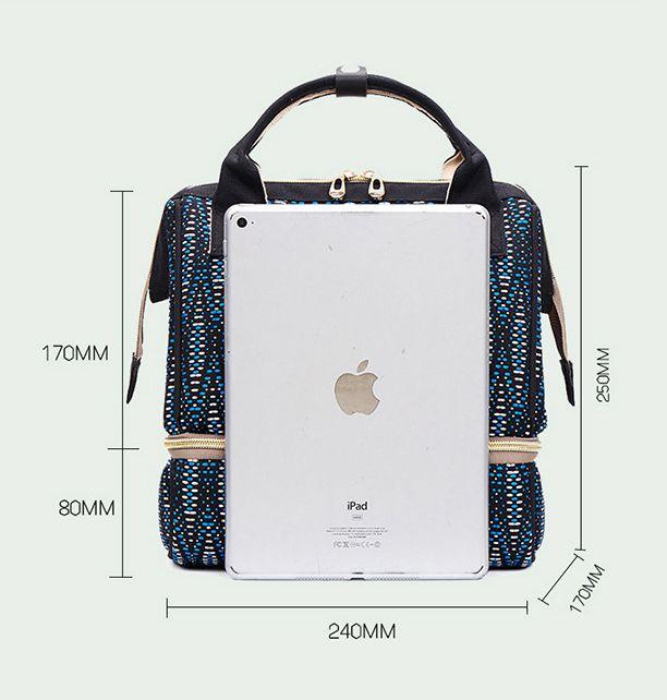 Fashion Portable Shoulder Small Mummy Breast Preservation Bag Maternal Baby Backpack Preserve Mother\`s Milk Bag Mon Backpack (3)