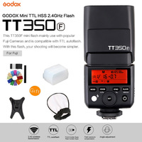 Godox Mini Speedlite TT350F TTL 2.4G Wireless High Speed Sync 1/8000s GN36 Camera Flash Light for Fuji Fujifilm Digital Camera