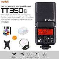 Godox Mini Speedlite TT350F TTL 2.4G Wireless High Speed Sync 1/8000s GN36 Camera Flash Light for Fuji Fujifilm Digital Camera