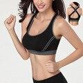 Wireless bra vest type shockproof size cross back seamless underwear 2016 women bra