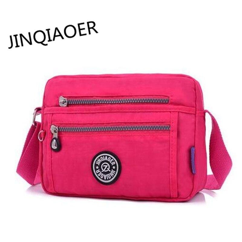 Jinqiaoer Новый Для женщин Мини Курьерские сумки Сумки Для женщин известных брендов дизайнер плечо сумка через плечо мешок основной BOLSOS ac017