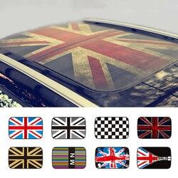 Halfdoorzichtige Zonnedak Dak Sticker Auto Styling Voor MINI Cooper JCW R55 R56 R57 R58 R59 R60 R61 Countryman Clubman Accessoires