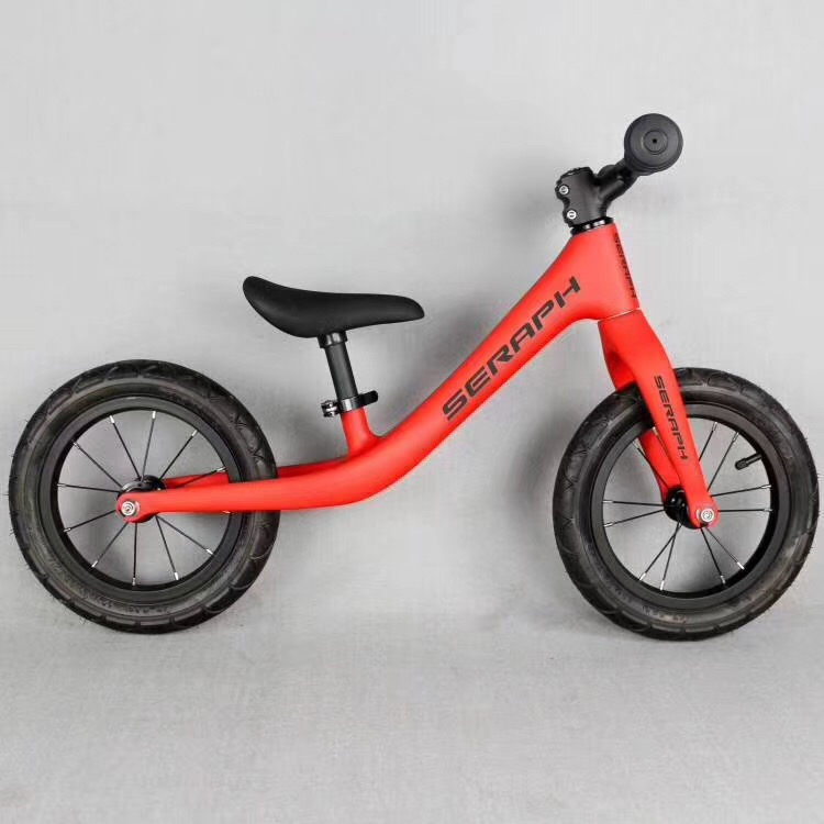 Custom Name Balance Bike Carbon Kids Balance Bicycle For 2~6 Years Old Children Complete Bike For Kids Carbon Bicycle