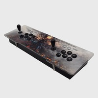 Newest box 6S 1388 in 1 jamma game console game station 1/2 player DIY kit parts buttons For pandora box
