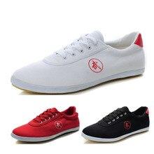 Детские китайские кроссовки для фитнеса ушу, парусиновая обувь кунг-фу, прогулочная обувь для бега на плоской подошве, спортивная обувь для мальчиков и девочек