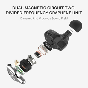 Image 3 - TFZ Exclusive King In Ear Headphones DJ Bass Ear Monitor Earphone Noise Cancelling 3.5mm Stereo Metal Hifi Headset