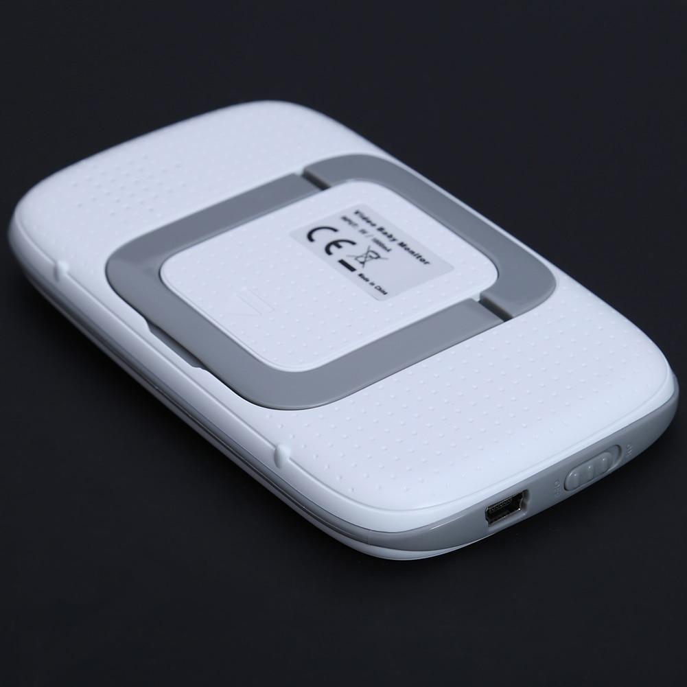 3.2 inch Wireless Video Color Baby Monitor Two-way Intercom Baby Nanny Security Camera Night Vision Temperature Monitoring