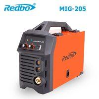 2017 New Time limited Redbo Mig Mag 205 220v Igbt Inverter CO2 Gas Shielded Mig Welding Machine MMA ARC