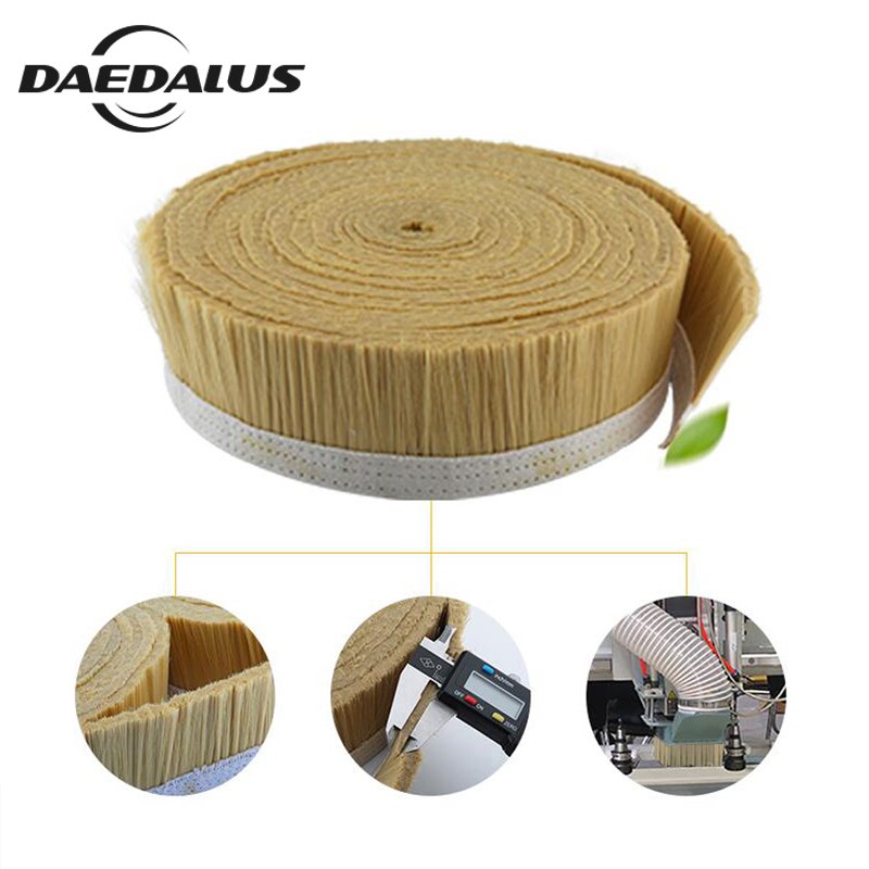 Brand New! 10M x 70mm Brush Vacuum Cleaner Engraving Machine Dust Cover For CNC Router For Spindle Motor Milling Machine