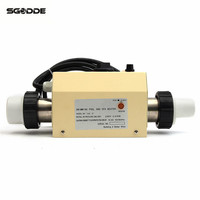 Water Sports 2KW 220V Electric Swimming Pool and SPA Bath Heating Tub Water Heater Thermostat 220V Swimming Pool Accessories