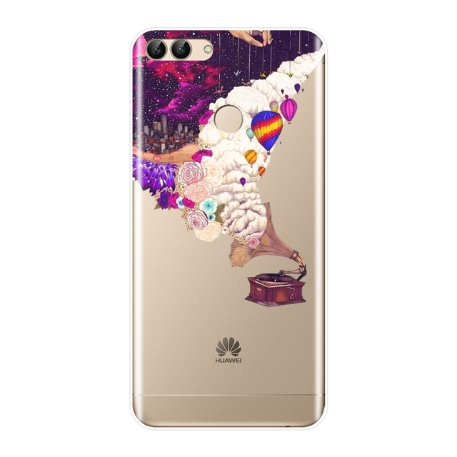 Art Star Space Phone Case For Huawei P9 Lite Mini Silicone Soft Back Cover For Huawei P8 P9 P10 P20 Lite Pro Plus 2017 P Smart